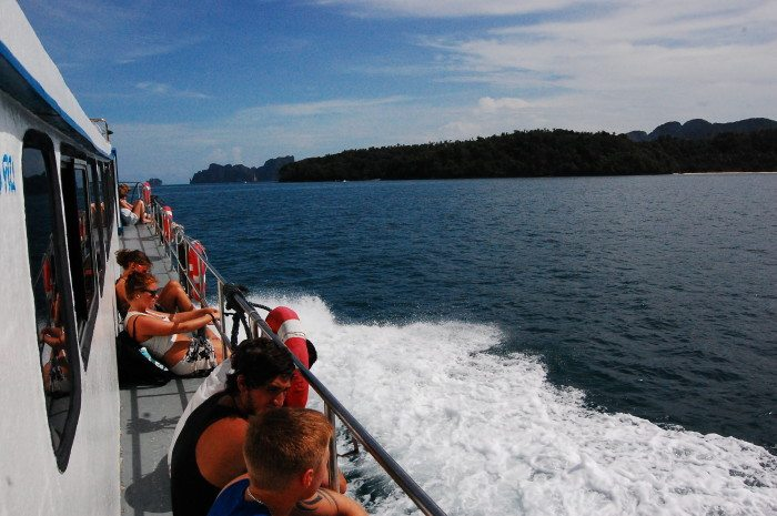Ferry to Koh Phi Phi
