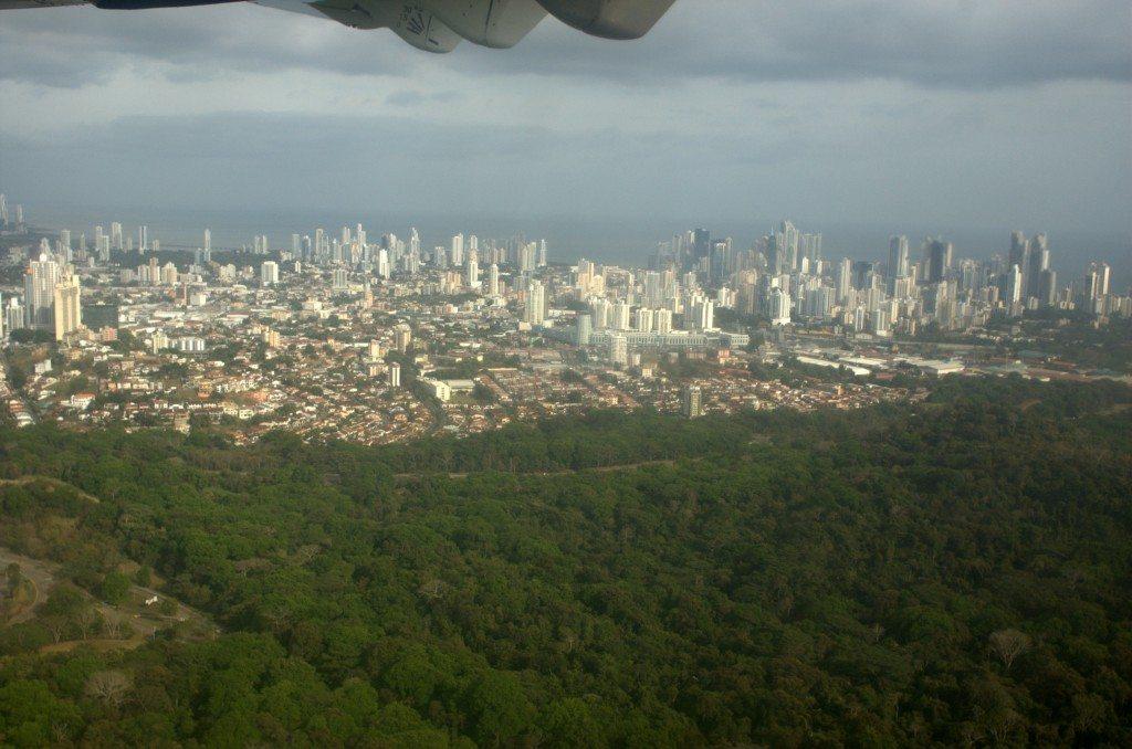 panama city bird's eye view