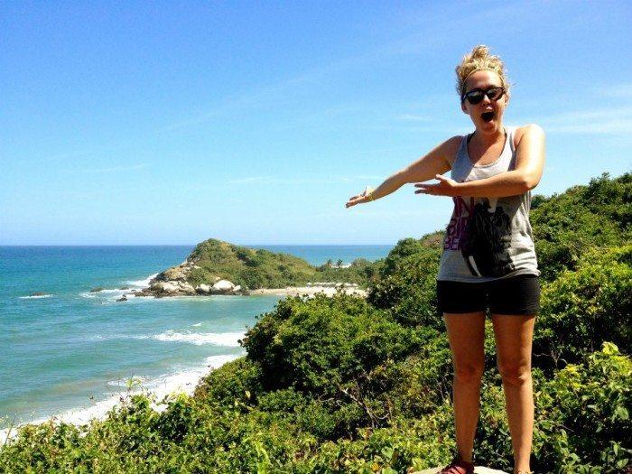 hike through tayrona