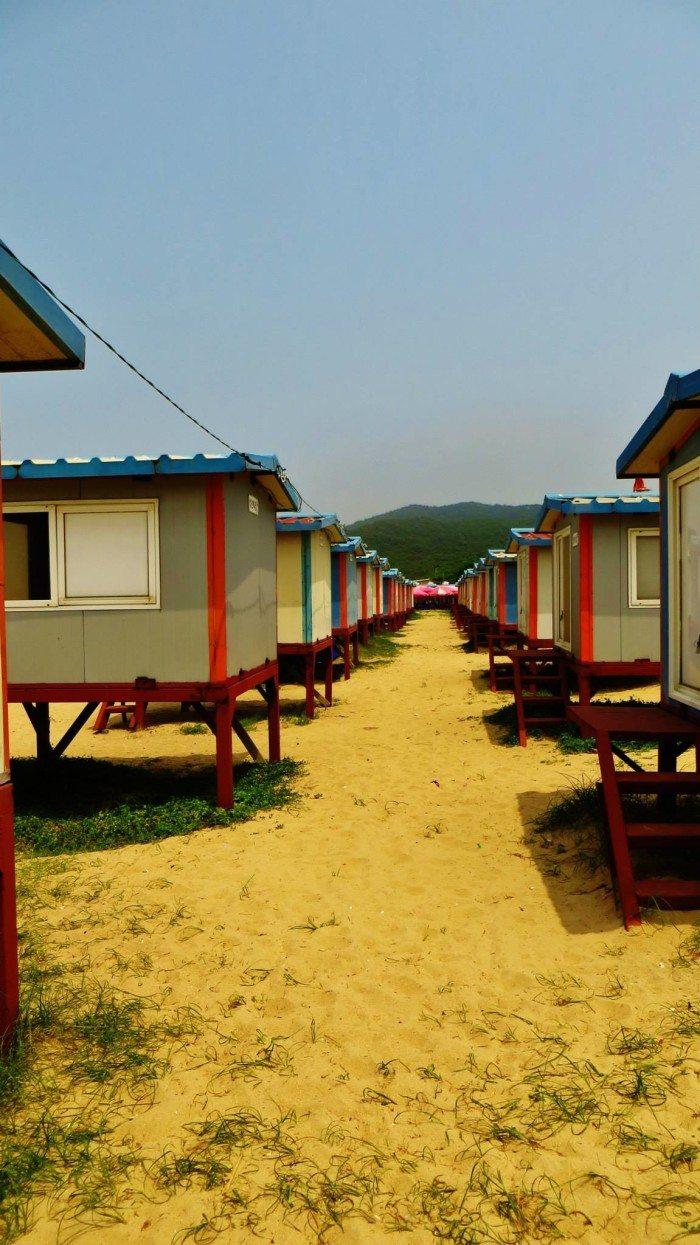 muuido beach cabins