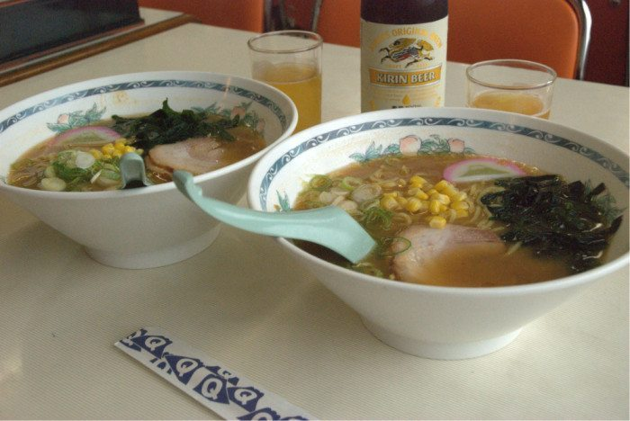 fuji ramen helps, a little.