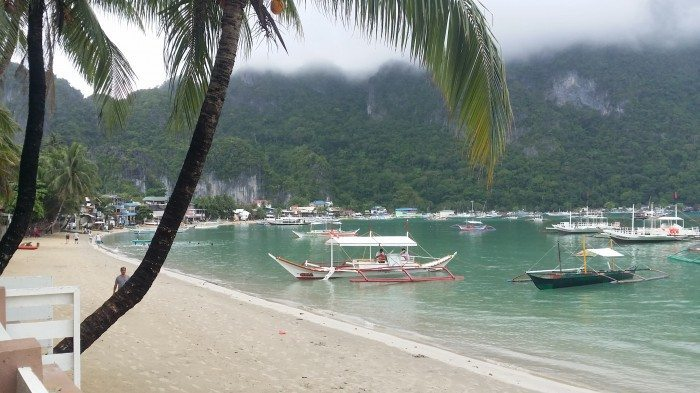 Rosanna's Pension el nido town proper bangka island hopping tour