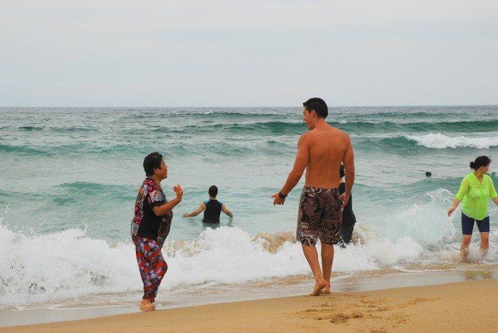 chuam beach korea