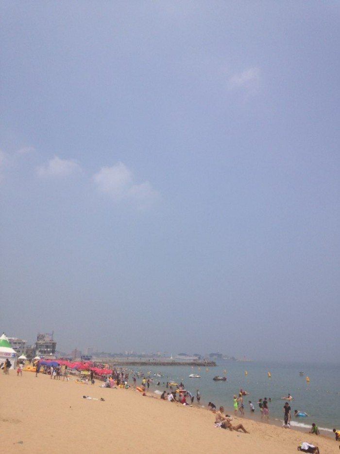 sokcho beach gangwon-do