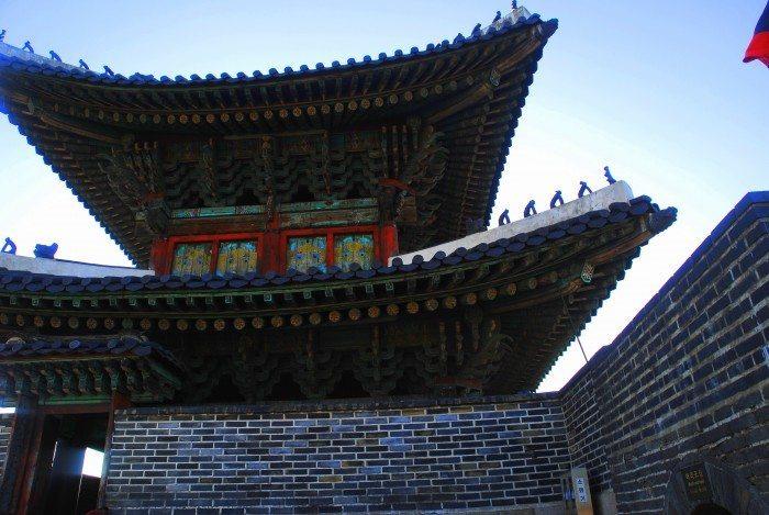 hwaseong janganmun gate