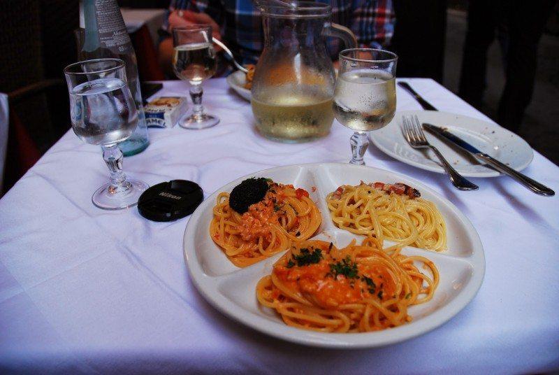 best restaurant rome spaghetteria larchetto