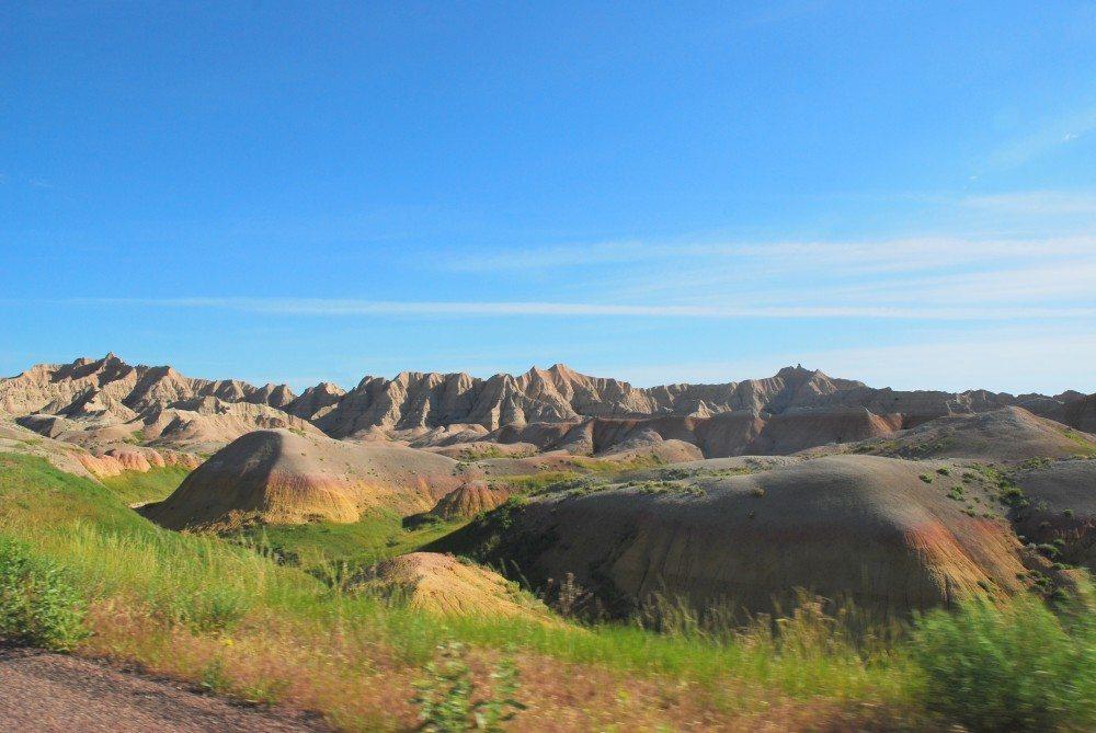 badlands national park road trip