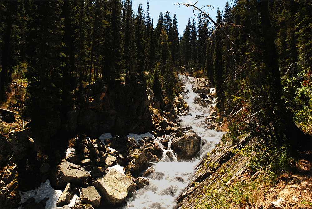 cascade canyon trail tetons
