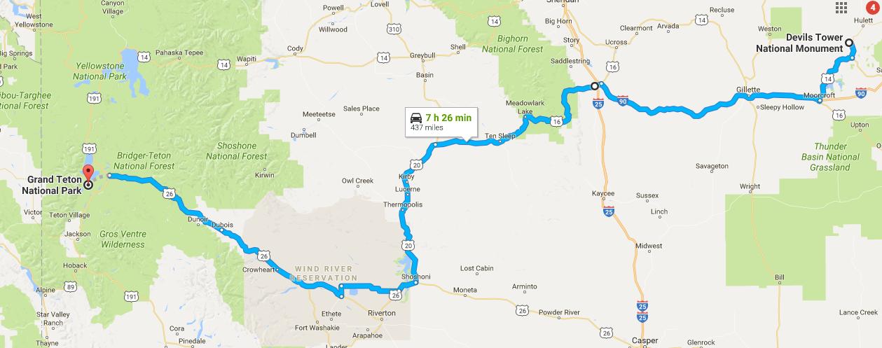 Wyoming Road Trip 3 Nights in Grand Teton National Park