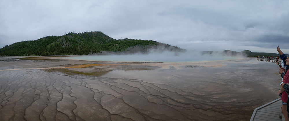 yellowstone national park grand prismatic spring