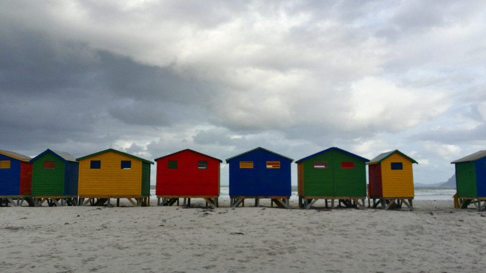 muizenberg beach houses